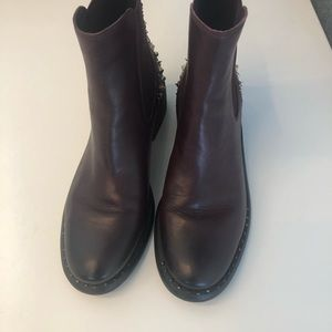 Barely Worn Sam Edelman Studded Ankle Boots.